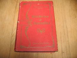 """Livre, Dentelle Broderie - Cours En 40 Leçons """" Les Broderies Et Les Dentelles """" M. CHARLES Et L. PAGES (fr87) - Fashion"""