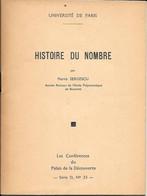 Histoire Du Nombre - Sciences