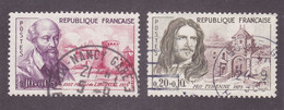 TIMBRE FRANCE N° 1257/1258 OBLITERE - Gebraucht