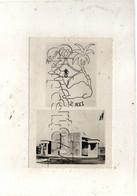Marrakech (Maroc) : 2 Vue Du Camp Crozé Du 2e Régiment étranger D'infanterie En 1950 (illustrée) PF. - Marrakech