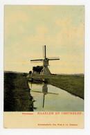 D498 - Haarlem Kleverlaan - Tulp Kaart - Molen - Moulin - Mill - Mühle - - Haarlem