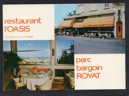 63 ROYAT RESTAURANT L OASIS PARC BARGOIN CPM  Grand Format 15 X 10,5 Cm Clichés JO BAYLE - Royat