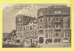 * Knokke Zoute - Knocke (Kust - Littoral) * (Hélio.art.Bichrome De Graeve Nr 1482) Hotel Léopold II, Pension Panier D'or - Knokke