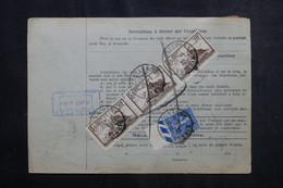 FRANCE - Bulletin De Colis Postal De Wasselonne Pour Toulouse En 1932 , Affranchissement Fiscaux / Timbres - L 73157 - Cartas