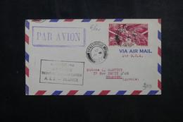 A.E.F. - Enveloppe 1er Vol  Rapide A.E.F./ France En 1946 - L 73164 - Covers & Documents