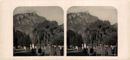 2934 Friedhof In Klausen, Süd-Tirol. ESTEREOSCOPICA. STÉRÉOSCOPIQUE. STEREOSCOPIC - Stereo-Photographie