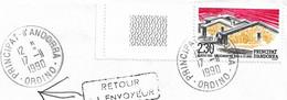Timbres Sur Lettres 1990 N°395 Séchage Du Tabac Cote 2,50€ - Cartas