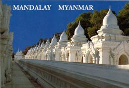 1 AK Myanmar * Kuthodaw-Pagode Mit 729 Stupas Mit Je Einer Marmorplatte Mit Birmanischer Schrift Weltdokumentenerbe - Myanmar (Birma)