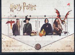 Año 2019 Harry Potter - Blocks & Sheetlets