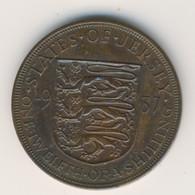 JERSEY 1937: 1/12 Shilling, KM 18 - Jersey