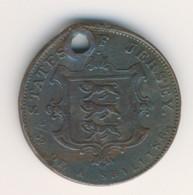 JERSEY 1841: 1/52 Shilling, KM 1 - Jersey