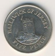 JERSEY 1986: 5 Pence, KM 56.1 - Jersey