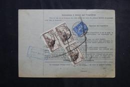FRANCE - Bulletin De Colis Postal De Wasselonne En 1932 Pour Toulouse, Affranchissement Recto / Verso - L 73201 - Cartas