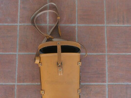 FRENCH ARMY - BINO LEATHER CASE W/ STRAPS - Uitrusting