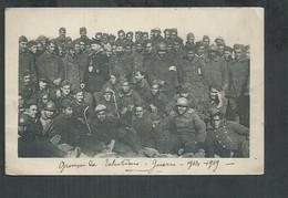 Guerre De 14/18 Carte  D'un Groupe De Tahitien - War 1914-18