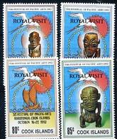 Cook Islands, Festival, 1992, 4 Stamps, Overprinted - Other