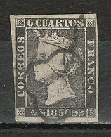 Spanien Mi 1 II O - Gebraucht