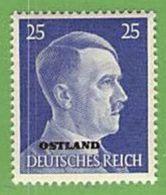 MiNr.13 Xx Deutschland Besetzte Gebiete II.WK Ostland - Occupation 1938-45