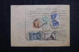 FRANCE - Bulletin De Colis Postal De Cernay En 1932 Pour Toulouse, Affranchissement Au Verso - L 73203 - Cartas