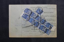 FRANCE - Bulletin De Colis Postal De Wasselonne En 1932 Pour Toulouse, Affranchissement Recto / Verso - L 73206 - Cartas