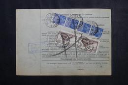 FRANCE - Bulletin De Colis Postal De Wasselonne En 1932 Pour Toulouse, Affranchissement Recto / Verso - L 73207 - Cartas