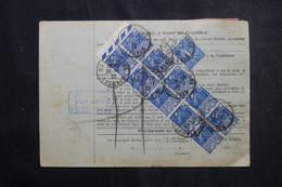 FRANCE - Bulletin De Colis Postal De Wasselonne En 1932 Pour Toulouse, Affranchissement Recto / Verso - L 73209 - Cartas