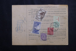 FRANCE - Bulletin De Colis Postal De Buhl En 1932 Pour Toulouse, Affranchissement Au Verso - L 73210 - Cartas