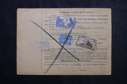 FRANCE - Bulletin De Colis Postal De Thann En 1932 Pour Toulouse, Affranchissement Fiscal / Timbres Postes - L 73213 - Cartas