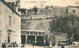 CPA 84 OPPEDE LA PLACE  BELLE ANIMATION - Oppede Le Vieux
