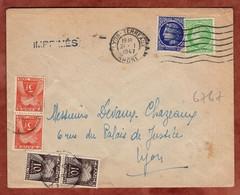 Drucksache, Ceres, Timbres Taxe Portomarken, Lyon 1947 (98184) - Segnatasse