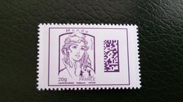 France Timbre NEUF N° 4976 - Année 2015 - Marianne De La Jeunesse Monde 20g  DataMatrix Ciappa Et Kawena Gommé - Unused Stamps