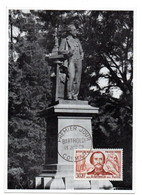 Carte / Journée Du Timbre / Bartholdi / 13 Juin 1959 - 1950-59