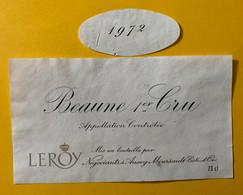 16269 - Beaune 1er Cru 1972 Leroy - Bourgogne