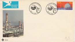 AFRIQUE DU SUD FDC 1975 SASOLBURG - FDC