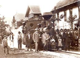 BRATCA / BIHOR : TRANSPORT DU BOIS En ROUMANIE / WOOD EXPLOITANTION / TIMBER On RAILROAD / TRAIN FORESTIER - 1926 (af633 - Rumania