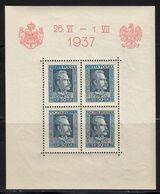 Pologne 1937 Yvert BF 2 ** Et BF 3 ** Neufs Sans Charnière. Visite Roi Carol De Roumanie. (2006t) - Blocchi E Foglietti