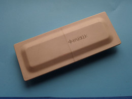 PARKER STYLO ( In Original BOX ) Total Weight 74 Gram. ( See / Voir Photo For Detail ) ! - Penne