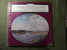 33 TOURS BEETHOVEN. 1976. SONATES POUR VIOLON ET PIANO N°4 ET 5. PRINTEMPS DECCA 7361. ITZHAK PERLMAN / VLADIMIR ASHKEN - Klassiekers