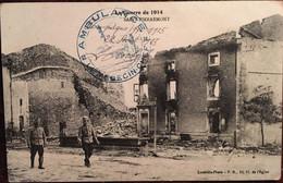 Cpa De 1915, La Guerre De 1914 (Militaria) Saint Pierremont (88), Cachet Ambulance Médecin Chef, Lunéville Photo - Otros Municipios