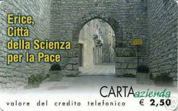 *CARTA AZIENDA 2° Tipo: CITTA' DI ERICE - Cat. 507* - NUOVA (MINT) (FT) - Unclassified