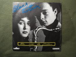 45 TOURS BLUES TROTTOIR. 1987. CARRERE 14 298 UN SOIR DE PLUIE / LE JOUR SUIVANT. CLEMENCE LHOMME / JACQUES DAVIDOVICI - Otros - Canción Francesa
