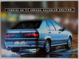 "RENAULT  19 EUROPA CAR ADVERTISING  BROCHURE  ""AUTOMOBILES TO LIVE"" - Autres"