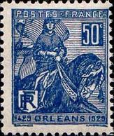 France Poste N* Yv: 257 Mi:237 Orléans Jeanne D'Arc (avec Charnière) - Ongebruikt