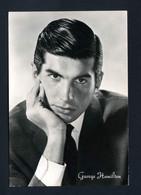 Cartolina Cinema - George Hamilton - Actors