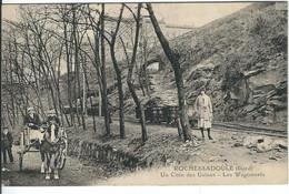 GARD : Rochessadoule, Un Coin Des Usines, Les Wagonnets - Other Municipalities