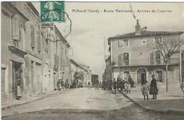 GARD : Milhaud, Route Nationale, Arrivée Du Courrier - Andere Gemeenten