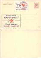 """Publibel N°2123 """"Buvez Le Bon Vin De France"""" + Vignette Identique , Neuf ! Alcool. - Publibels"""