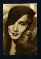 Cartolina Cinema - Marlene Dietrich - Acteurs