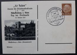 DR Privatganzsache PP 122 C42 Mit Sonderstempel, Aschaffenburg (828) - Postwaardestukken