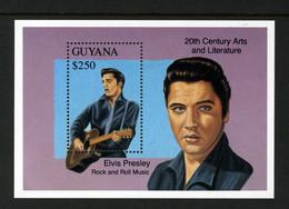 GUYANA - 1993 ELVIS ROCK & ROLL $250 MS SUPERB MNH ** - Guyana (1966-...)